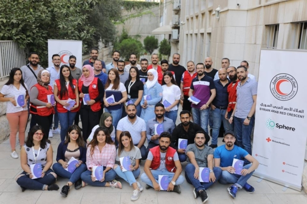 Sphere Training, Damascus, Syria, Sep 2019