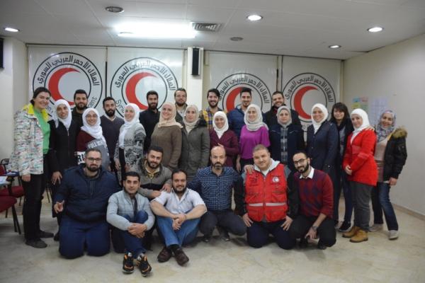 Sphere Training, Homs, Syria, Nov 2019