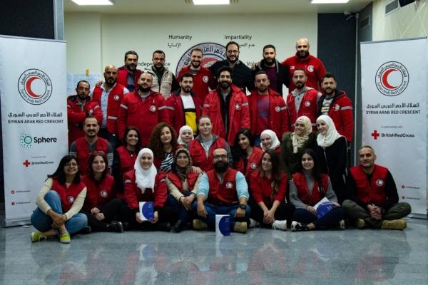 Sphere Training, Damascus, Syria, Dec 2019