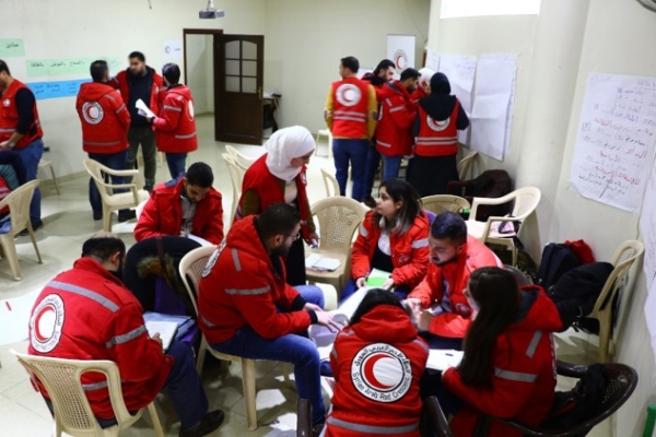 Sphere Training, Rural Damascus, Syria, Dec 2018