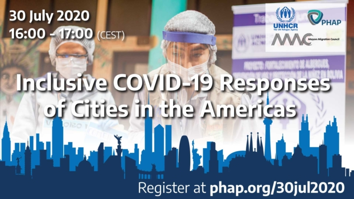 Inclusive COVID-19 Responses of Cities in the Americas, online, 30 Jul 2020