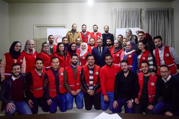 Sphere Training, Aleppo, Syria, Dec 2018