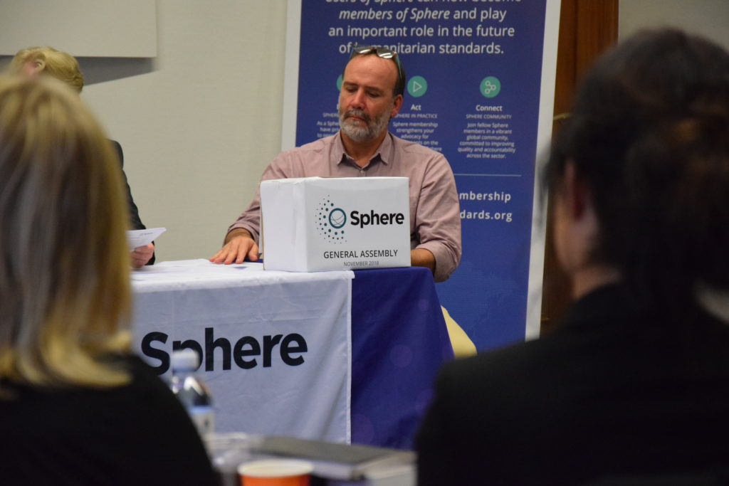 Sphere members vote to elect the new President of the General Assembly and the officers in the Executive Committee on 5 November.