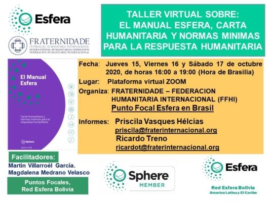 el-manual-esfera-carta-humanitaria-y-normas-minimas-para-la-respuesta-humanitaria-taller-virtual-oct-2020